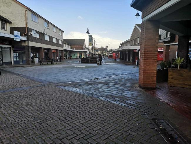 Caldicot Town Centre, which has been struggling for footfall for a long time