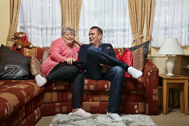 South Wales Argus: Jenny and Lee. Picture: Channel 4