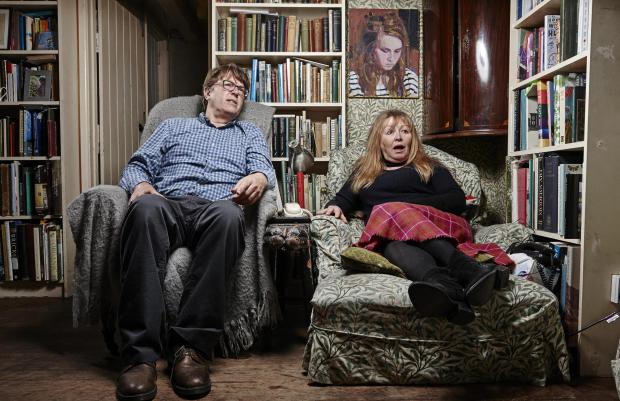 South Wales Argus: Giles and Mary. Picture: Channel 4