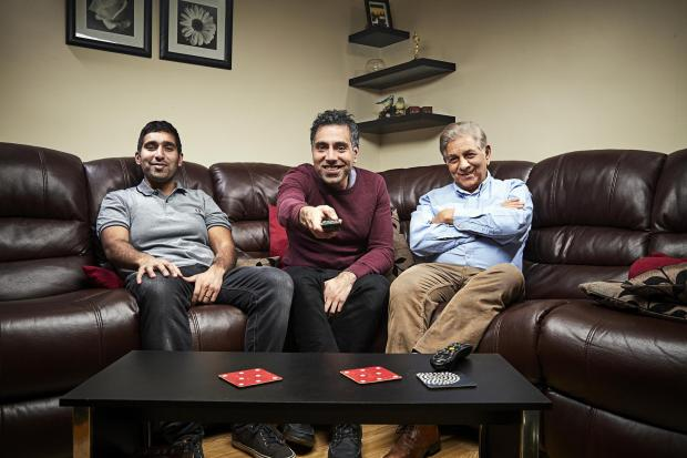 South Wales Argus: The Siddiqui family. Picture: Channel 4