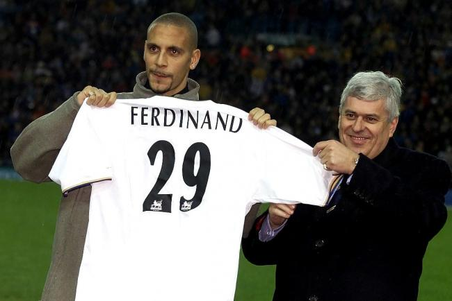 Rio Ferdinand became the world's most expensive defender when he signed for Leeds.