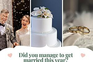 Did you manage to get married this year? We'd love to share your news.