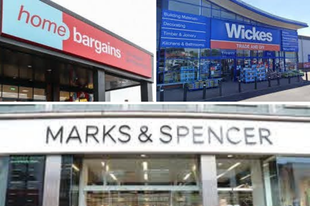 M&S, Home Bargains, Wickes - stores shut longer at Christmas