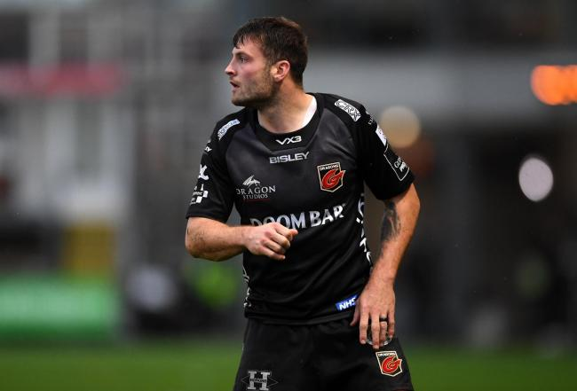 MOVED: Fly-half Josh Lewis is set to start at full-back for the Dragons