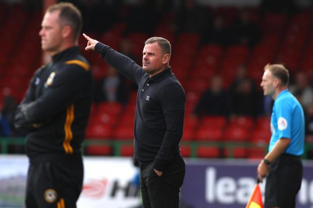 South Wales Argus: BARB: Richie Wellens in charge of Swindon last year