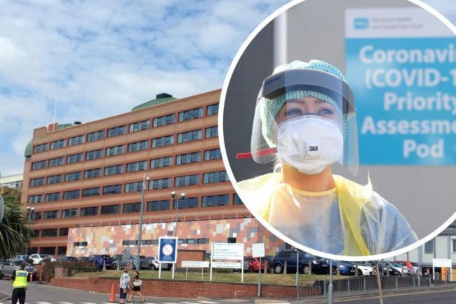 Coronavirus patients in Gwent hospitals reaches new high as new strain spreads