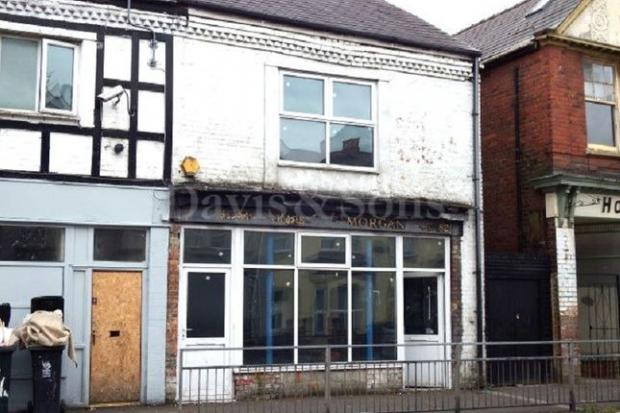 South Wales Argus: This shop can be converted into a home (Photo: Zoopla)