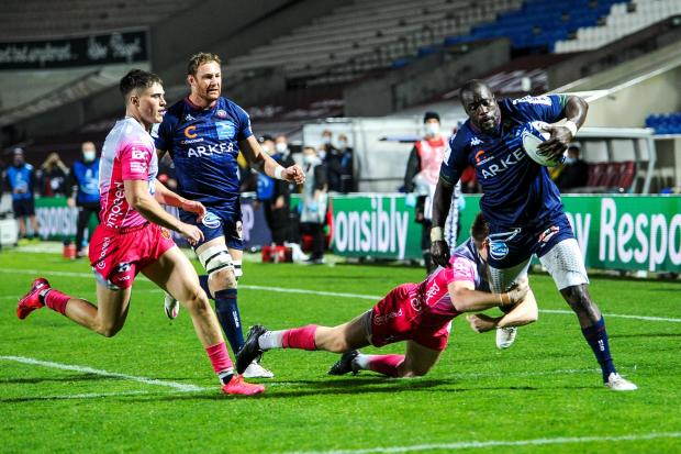 South Wales Argus: The Dragons frustrated Bordeaux after Mahamadou Diaby's (controversial) early score