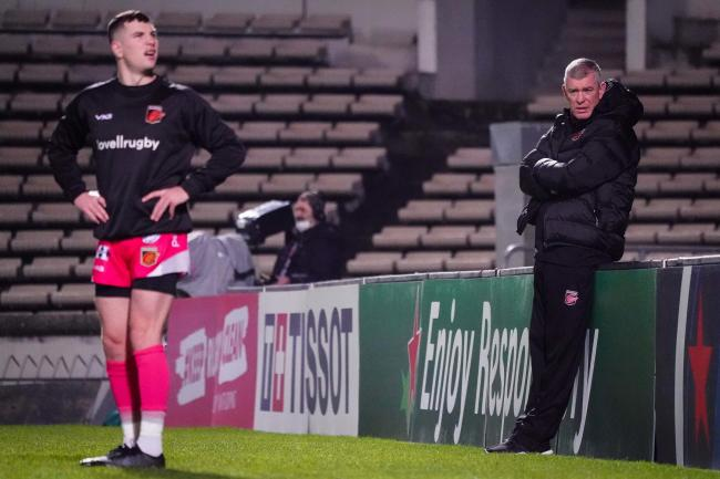 VALUABLE: Dean Ryan will have learnt a lot about his young Dragons in Bordeaux
