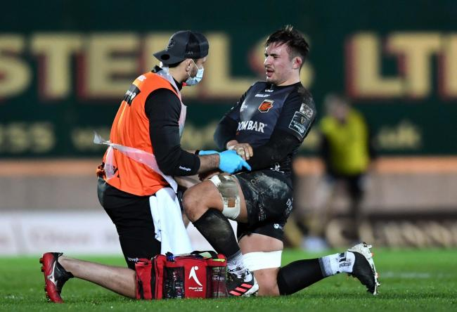 OPERATION: Dragons flanker Taine Basham will be out for more than two months after surgery on his left forearm
