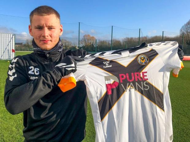 South Wales Argus: SIGNING: Owen Windsor has arrived on loan