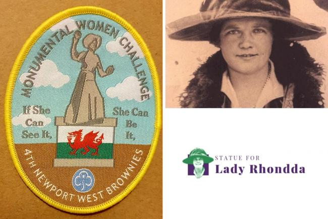 Monumental Women group launch unofficial Girlguiding badge