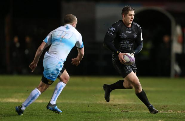 South Wales Argus: COMEBACK TRAIL: Tom Griffiths is targeting a return in the coming months