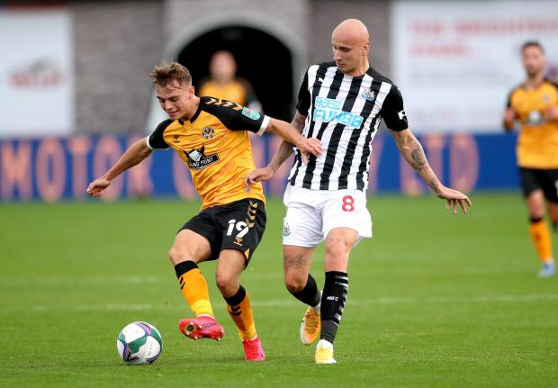 South Wales Argus: TALENT: Scott Twine starred for Newport