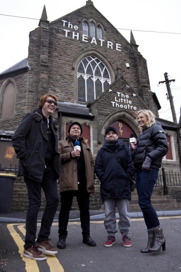 South Wales Argus: HOME: The Manic Street Preachers are brought home to Blackwood by BBC Radio 2