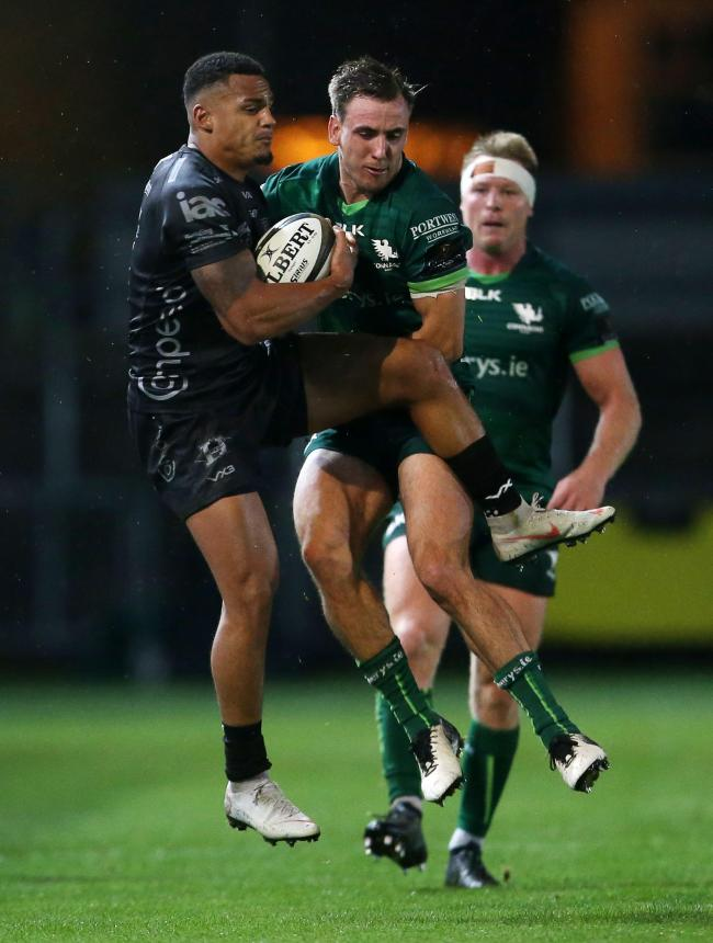 TUSSLE: Ashton Hewitt and the Dragons take on Connacht
