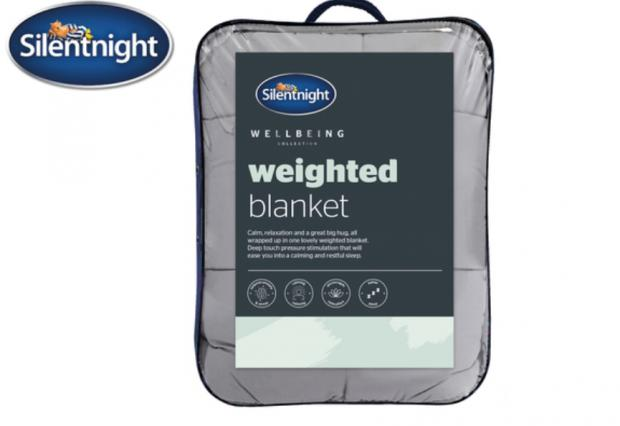 South Wales Argus: Silentnight Weighted Blanket (Lidl)