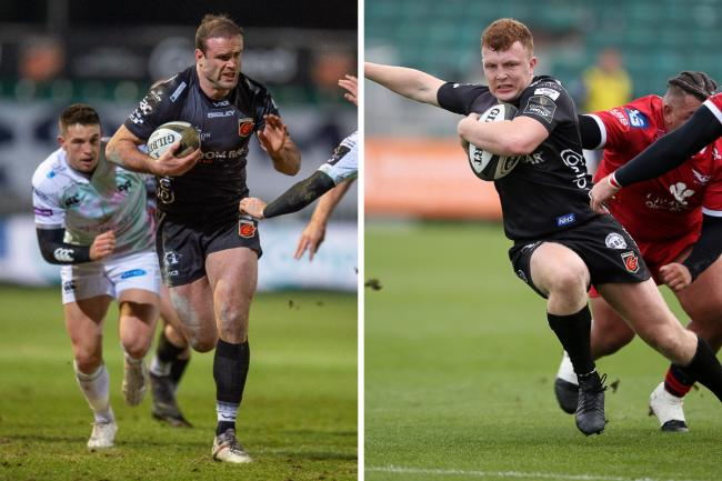 OLD AND NEW: Experienced centre Jamie Roberts misses the Dragons' game with Leinster but prospect Aneurin Owen starts
