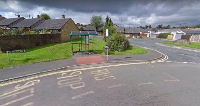 The bus stop in Blackwood. Picture: Google
