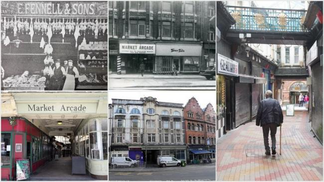 THROUGH THE YEARS: Photographs of Newport's Market Arcade
