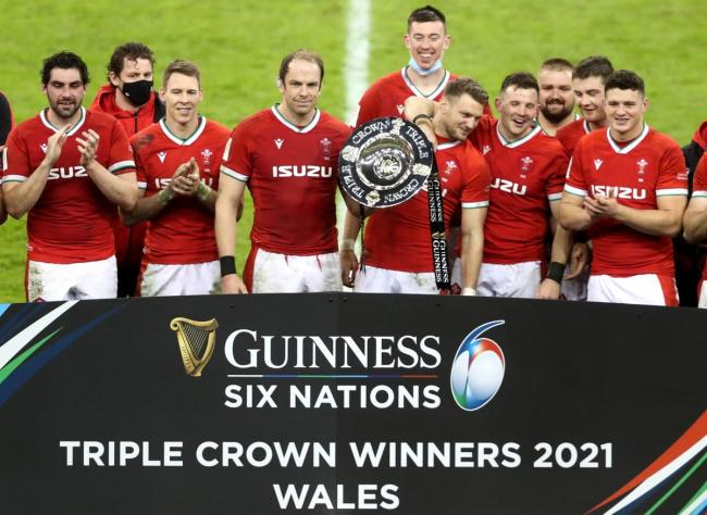 Wales win Triple Crown in 40-24 victory over England