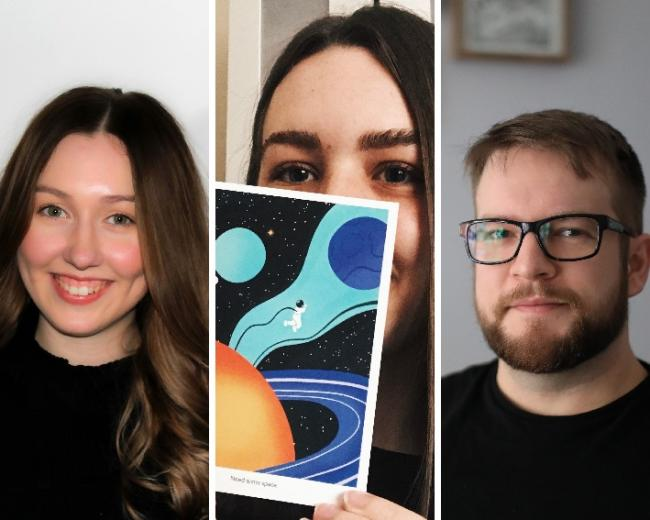 Design agency appoints three new designers