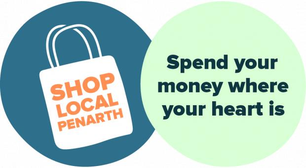 South Wales Argus: The ShopAppy Penarth official ethos and logo