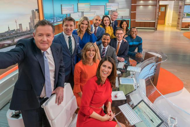 Piers Morgan speaks out following decision to quit Good Morning Britain.  (Picture: ITV/Good Morning Britain)