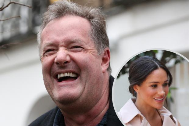 South Wales Argus: Piers Morgan branded Meghan Markle's comments in Oprah interview 'contemptible'. (PA/Canva)