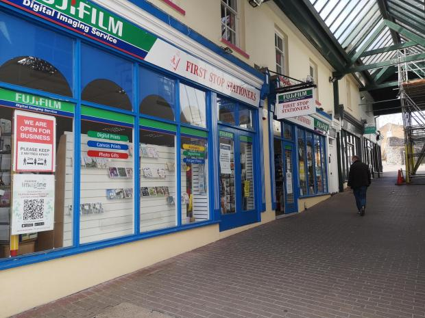 South Wales Argus: First Stop Stationers at Manor Way, Chepstow