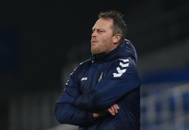 ANGRY: Newport County AFC boss Michael Flynn