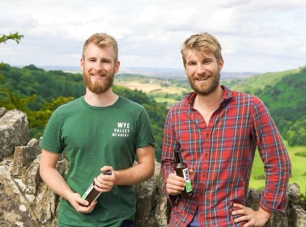 Kit and Matthew Newell of Wye Valley Meadery