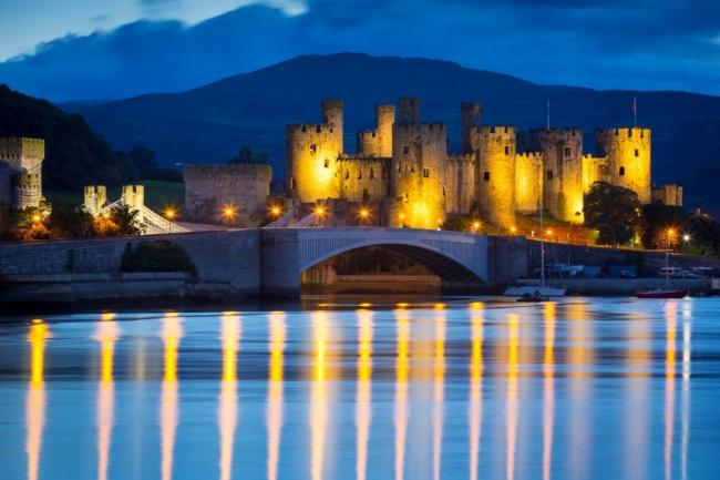 Conwy Castle: Photo: Visit Wales