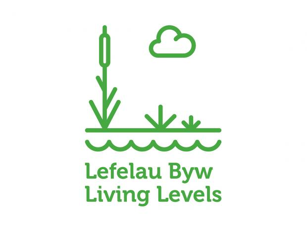 South Wales Argus: Living Levels logo