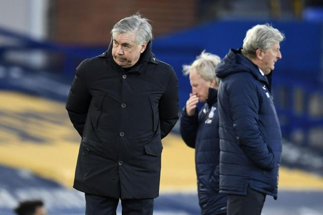 Everton manager Carlo Ancelotti was left to rue missed opportunities against Palace