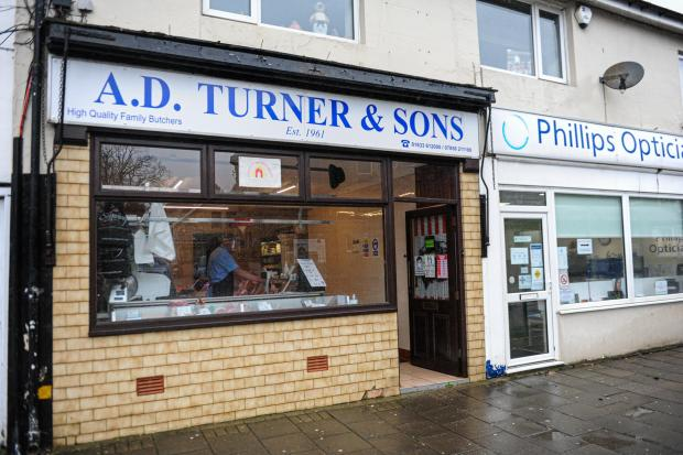 South Wales Argus: AD TURNERS RISCA