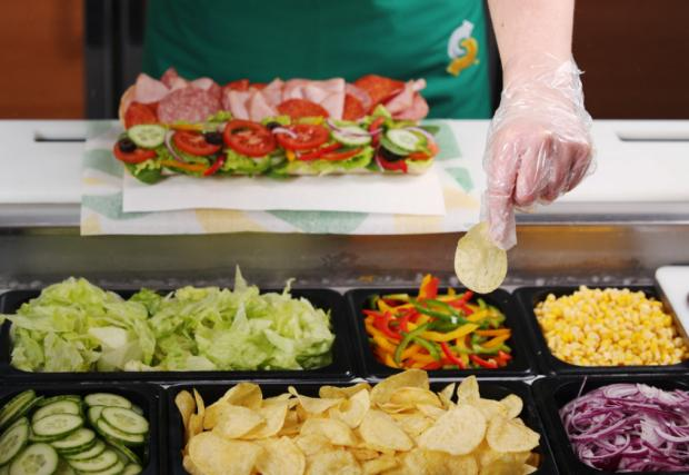South Wales Argus: The sandwich chain has made the change at every UK store. (Subway)