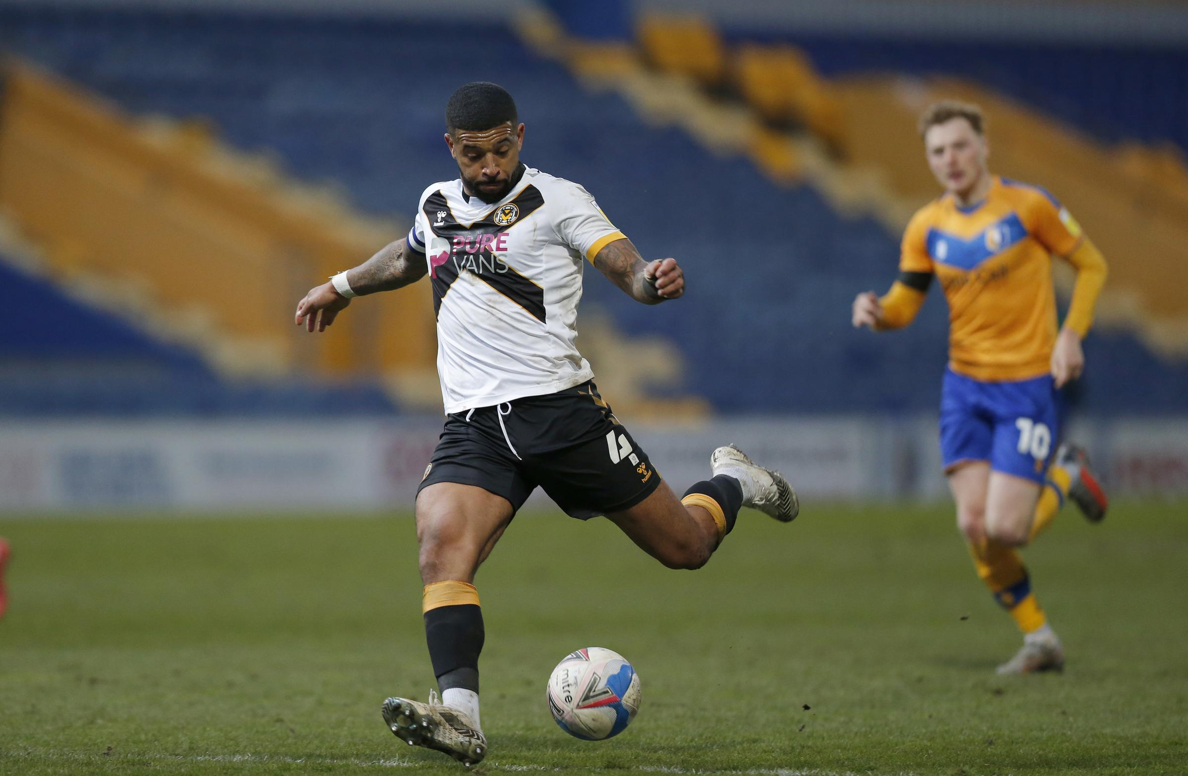 INFLUENTIAL: Newport County AFC captain Joss Labadie