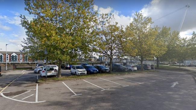 The Riverfront car park in Newport. Picture - Google Maps/Street View