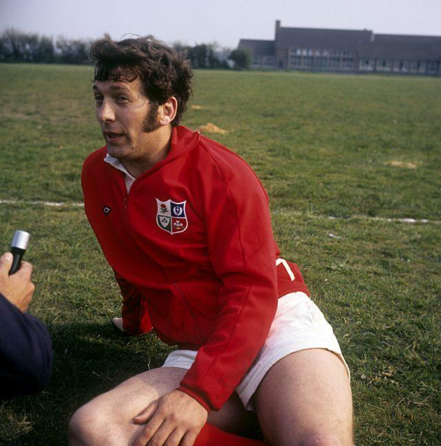 LEGEND: John Dawes captained and coached Wales and the Lions