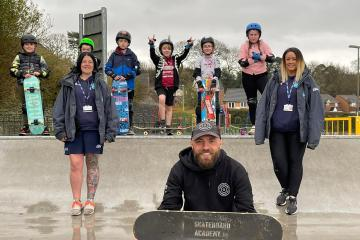 Oakdale gets new skate park for young people
