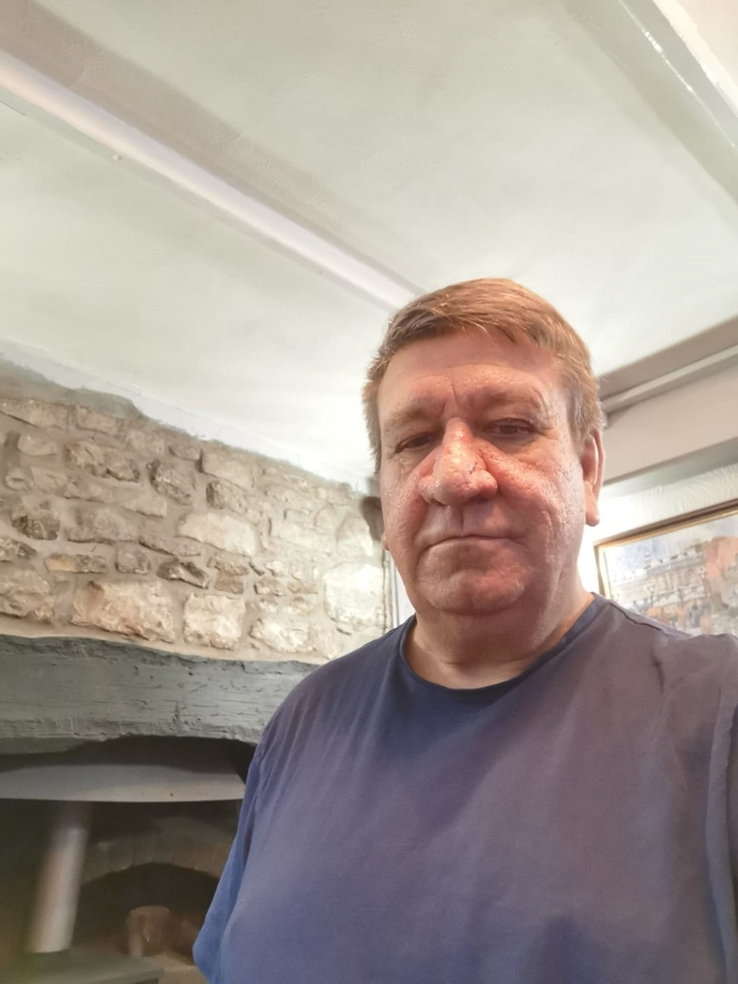 Gerwyn Evans, owner of The Rising Sun in Abersychan. Picture: Gerwyn Evans.