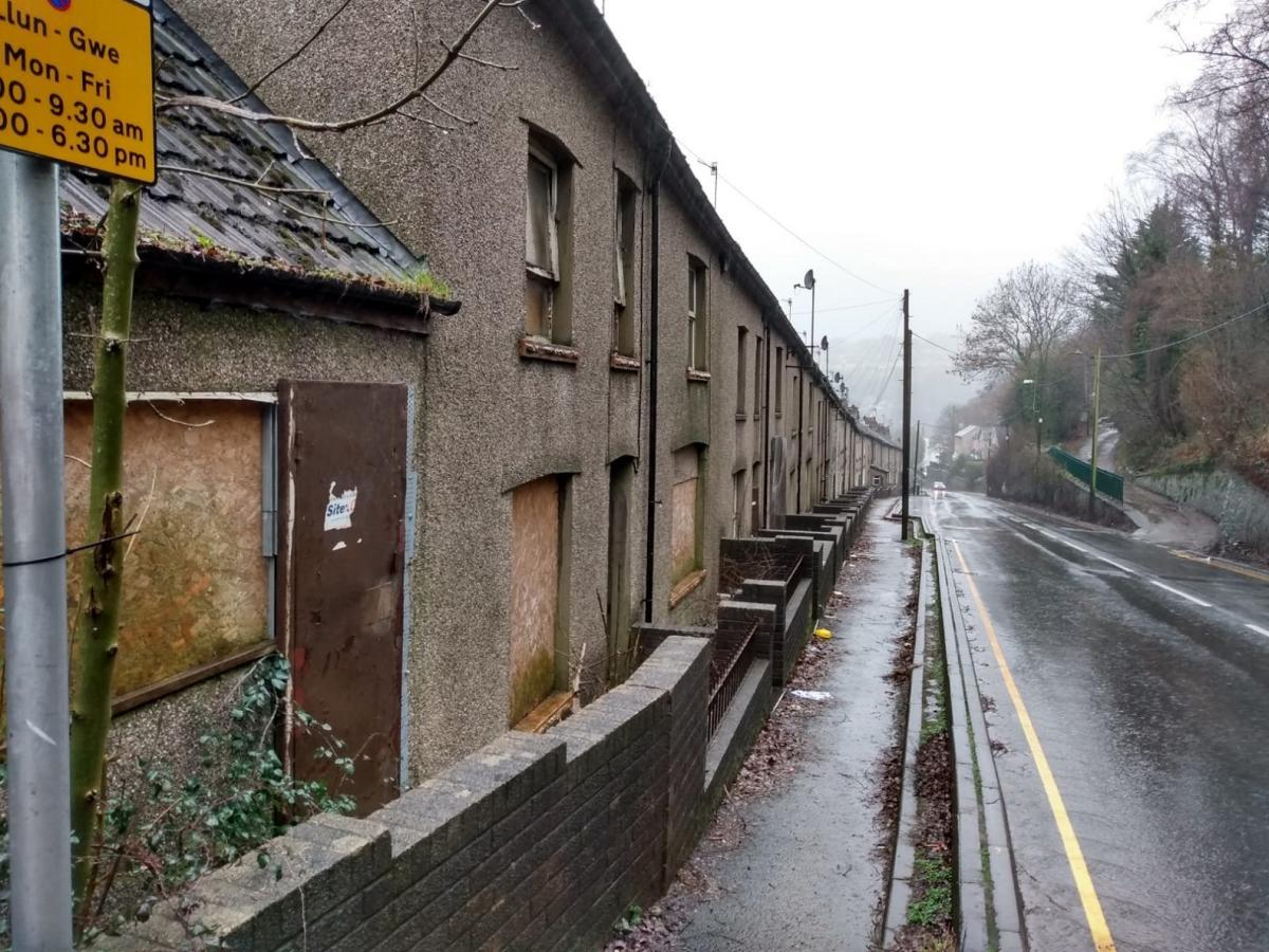 Demolition of homes in Wales' most polluted street to start next month