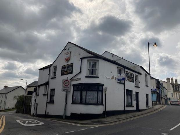 South Wales Argus: The Hanbury Arms in Pontypool. Picture: Paul Fosh Auctions.