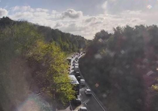 Crash on A48 causing heavy congestion, drivers warned to avoid the area