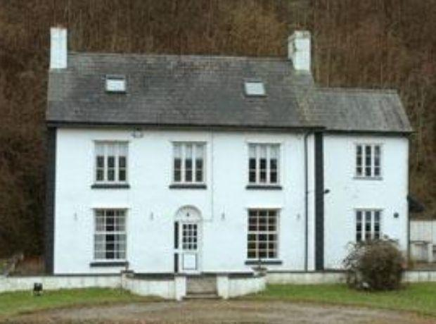 South Wales Argus: Kensington Cottage, where Alfred Russel Wallace was born