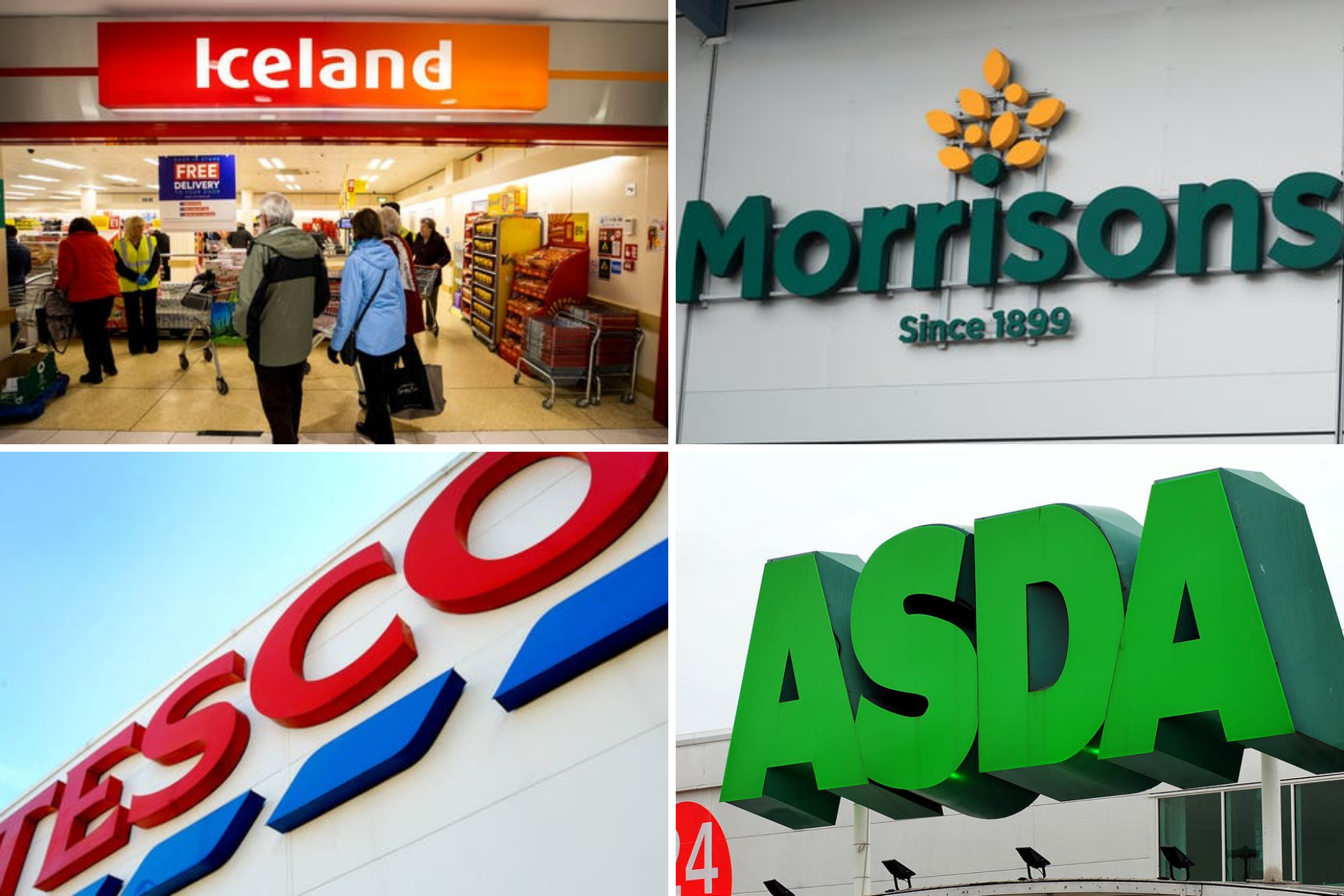 Tesco, Iceland and Morrisons issuing urgent product recalls