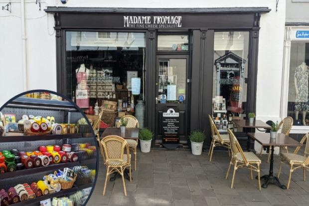 Madame Fromage opens in Abergavenny