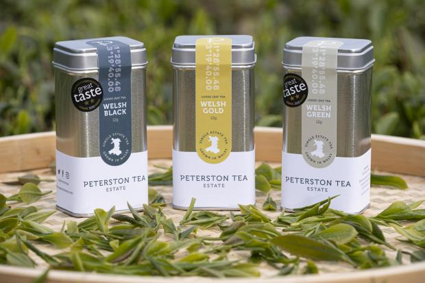 South Wales Argus: Some of the Peterston Tea Estate products on offer