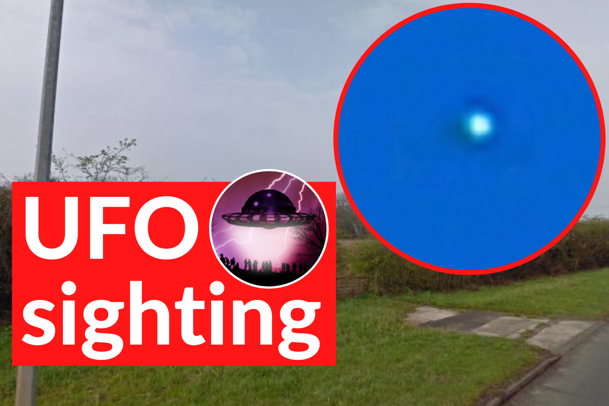 Watch: Are these really UFOs caught on video in Wales?